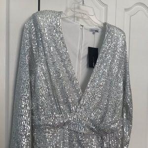 Fashion Nova Dresses - Center Stage Sequin Mini Dress FashionNova